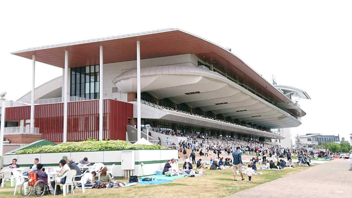 函館競馬場のスタンド